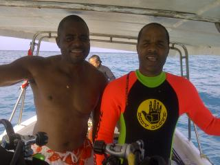 With Brother Scuba - Winston Williams