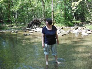 stolling in the streams at Cades Cove - Carolyn Hansen Henderson