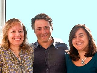 Fátima, Eduardo and Paula, owners and managers of Heart & Soul - Heart & Soul Lisbon - Localtraveling