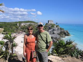 more travels - Tulum, Mexico - Jack & Sheila Pope