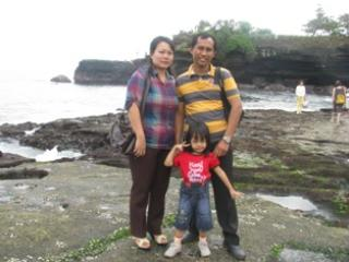 Budi and family - Wayan Budiyasa