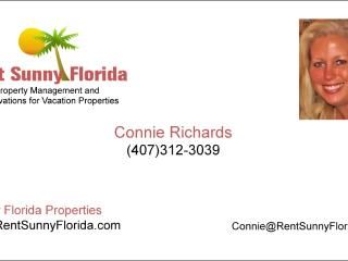 business card - Rent Sunny Florida LLC