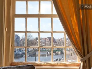view from the house upon the river Spaarne - Madeleine
