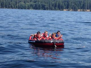 Payette Lake Tubing with the Boys - Jonathan Frost