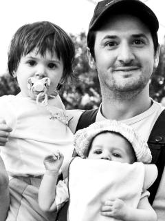 me with two of my three children :-) - Guido Materi