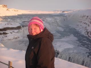 The coldest day of my life - Iceland - Elaine Fraser