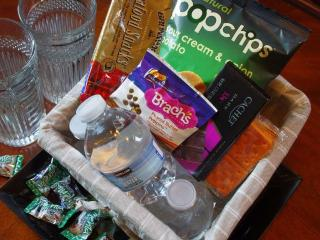 Complimentary In Suite Snacks - Welcome Inn Manor B&B on Michigan Avenue