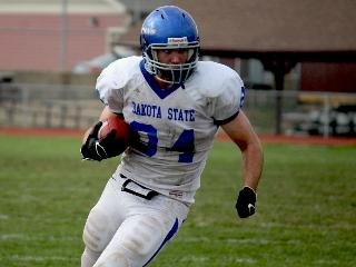 Bobby playing for Dakota State University!  Have all day?  Just ask! - Donn Tisch