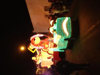 Carnaval Parade crossed in front or our B&B - Natalia del Valle