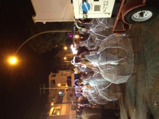 Carnaval Parade crossed in front of our B&B - Natalia del Valle