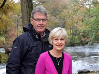 Andy & Annemarie - on holiday in North Wales - Andy Thompson
