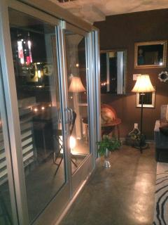 Striking Glass and Metal Balcony! - Bed and Bay Residence Inn