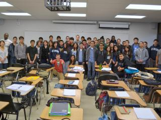 With my calculus course, at UCI, Spring 2012 - Oleg Melnikov