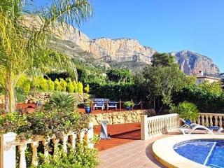 views from the pool -  luxury  villa in javea spain
