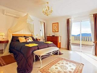 master room -  luxury  villa in javea spain