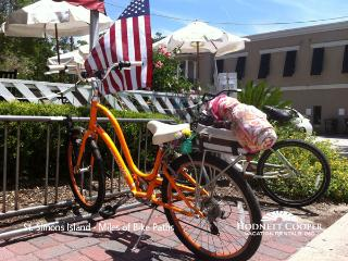 Explore the Island on the miles of paved bike paths - Hodnett Cooper Vacation Rentals