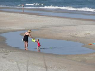 Low tide on the beach - The Dieter Co. Vacation Rentals