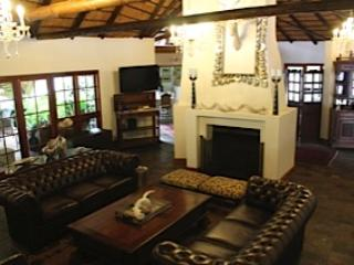 Lounge and fire place - Sandton Boutique Hotel