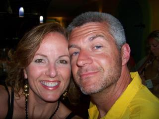 Cindy and Lee Nelson enjoying Naples - Lee Nelson