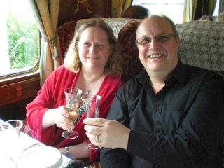 Enjoying Ourselves -  Alan and Fiona