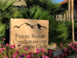 Entrance Sign - Pointe Tapatio - Resort Vacation Rentals at Pointe Tapatio Cliffs