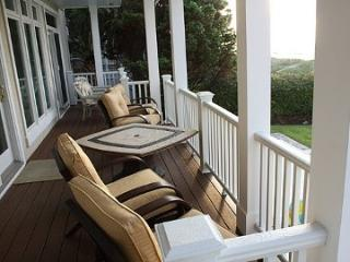 Tommy Bahama Deck Overlooking Pool, Hot Tub and Ocean - Roger and Karen Winston