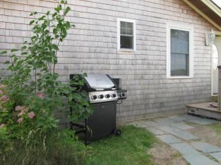 Grill!  Lobster pot and utensils inside if you want to have your own lobster bake! - The Moxie Oceanfront Luxury Cottage
