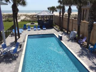 Oceanfront Pool Home 5 Master King Suite New 2014 - Saint Augustine Beach vacation rentals