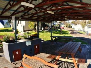 BBQ for the guests - Beach Cabins Merimbula NSW Australia