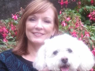 Jennifer Howard and Gus Gus our pup - Jennifer Howard
