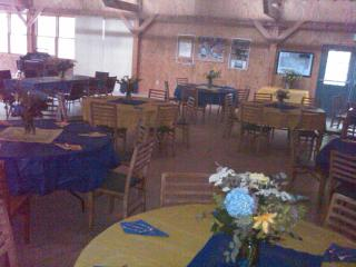 Dining Hall/seats 200/great for wedding receptions - The Woods at Buc