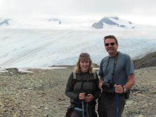 David and Diane, your hosts, are avid campers and hikers. - Rose Ridge Vacation Chalets