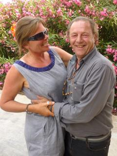 With my husband Danny - Heather Brownlow