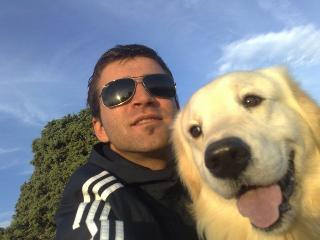 Me and my dog Aris - Ivica Mikelic