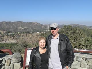I and my wife in Los Angeles, in 2013 - Jose Renato A. Duarte