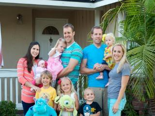 Our Anaheim Castle House Family! - Anaheim Castle House