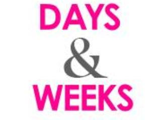 days and weeks - Rentals Days and Weeks, S.L