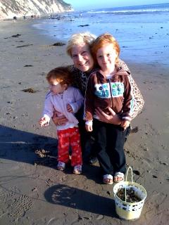 Nothing better than the beach and grandchildren combined - Wendy L Rockwood