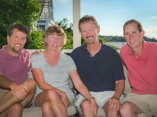 Pretty Picky is a Cape-based family business. From left, Scott Cheyne, Karen, Jim & Blake Decker - Pretty Picky Properties