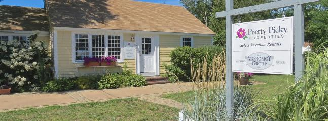 Pretty Picky's Brewster office, 2421 Main Street, Route 6A.  Stop by to say hello! - Pretty Picky Properties