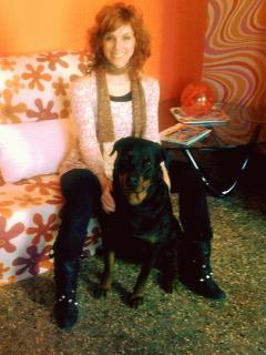 It's me with Black Mamba in the Vintage apartment - Chantal