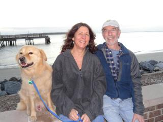 Buddy ans us - Linda and Art Haas