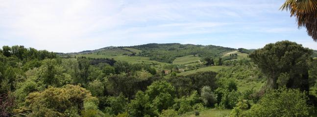 View from the Garden - Monna Lisa - Greve in Chianti