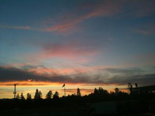summer sunset - FABULOUS VIEWS, right on the golf course