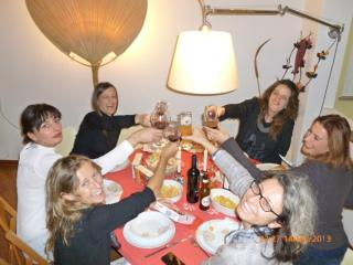 Me and my girl friends..  - Lucca Holiday Homes