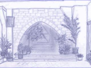 Sketch 3 of the house by one of our guests - Vassiliou Chrystalla