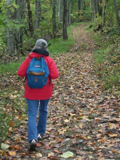 You're not the only one who gets to hike the trails on Cloud 9! - Janet Peterson
