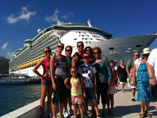 With family in the Carribean - Jeff Wever