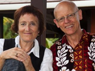 Frances & Max (We own and manage City-Bush Retreat)  - Frances and Max Harre