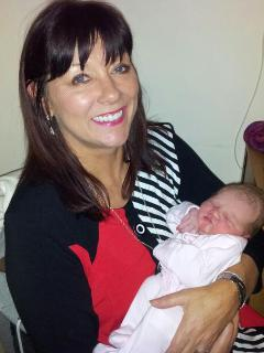 Trish happy to become grandmother - Trish Lynch